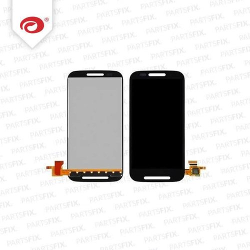 Moto E Display module (touch+lcd) black