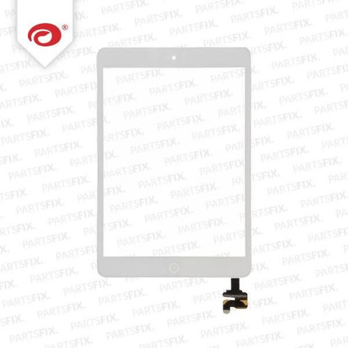 iPad mini Touchscreen complete with home button end IC Unit White