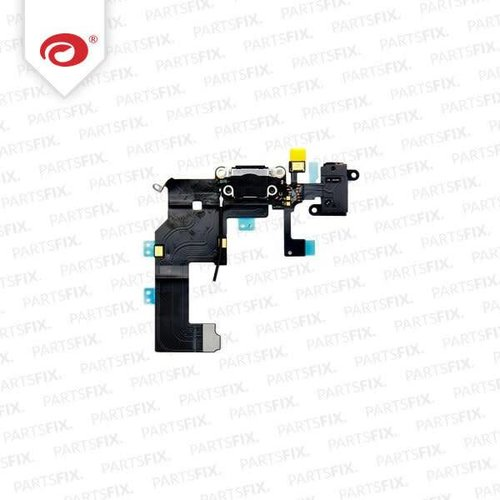 iPhone 5 System Connector + jack Flex Cable black