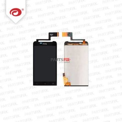 One V  LCD With Touchscreen Digitizer + Frame Black