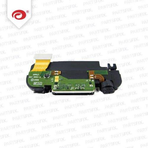 iPhone 3G complete Ringer/Speaker System Connector + Flex Cable black