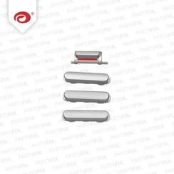 iPad 5 Air Button Set Silver White