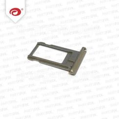 iPad 5 Air Sim Kaart Houder Grijs Zwart