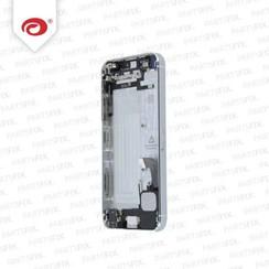 iPhone 5 RÍ_ckseite mit kleinen Teilen weiss