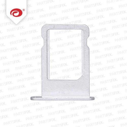 iPad 5 Air Sim Kaart Houder Zilver Wit