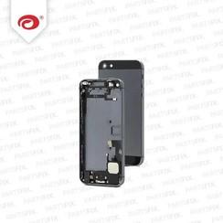 iPhone 5 Back Case schwarz ohne Teile