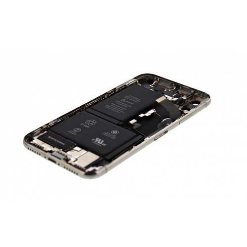 iPhone XS Housing Silver Complete With Parts