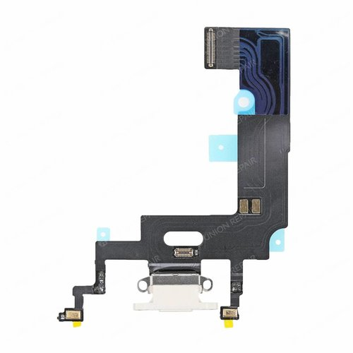 iPhone XR charge connector white