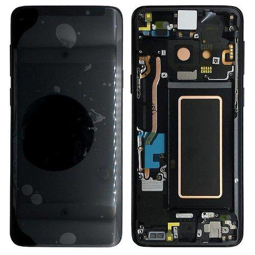 S9 Plus G965 display compleet ( zwart )