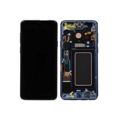 S9 Plus G965 display compleet ( blauw )