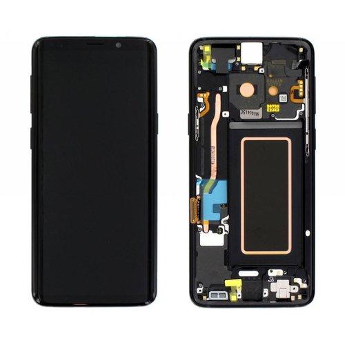 S9 G960 display complete ( black )