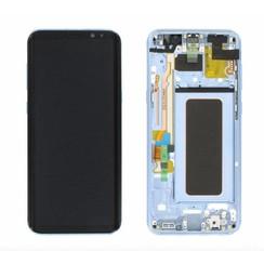 S8 Plus G955 display compleet ( blauw )