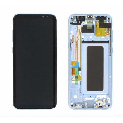 S8 Plus G955 display compleet ( blue )