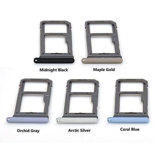S8 G950 sim tray silver