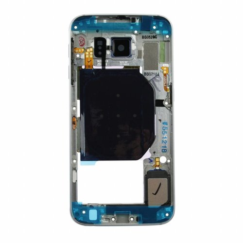 Samsung Galaxy S6 Middle Cover blauw