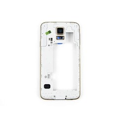 Samsung Galaxy S5 Middle Frame Gold