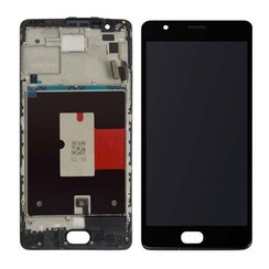 OnePlus 3 Display Unit (touch+lcd) zwart