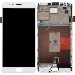 OnePlus 3 Display Unit (touch+lcd) wit +  frame
