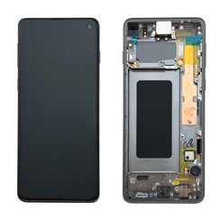 Samsung G973F S10 Display Compleet Zwart