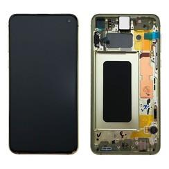 Samsung G970F S10E Display Compleet Zwart