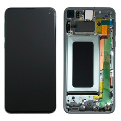 Samsung G970F S10E Display Compleet Prisma Groen