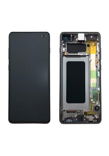Samsung G975F S10+ Display Compleet GH82-18849A - Prism Zwart