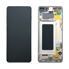 Samsung G975F S10+ Display Compleet GH82-18849B - Prism Wit