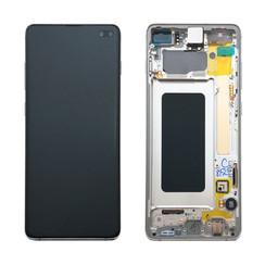 Samsung G975F S10+ Display Complete GH82-18849B - Prism White