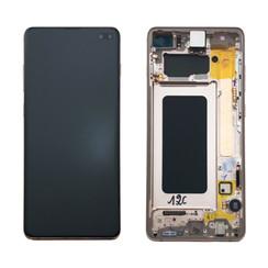 Samsung G975F S10+ Display Complete GH82-18849J - Ceramic White