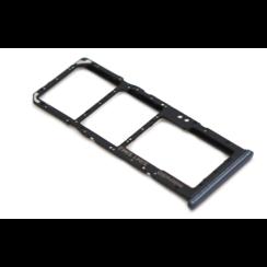 Nederlands Samsung A50 (A505F) Nano Sim Kaart Tray Zwart
