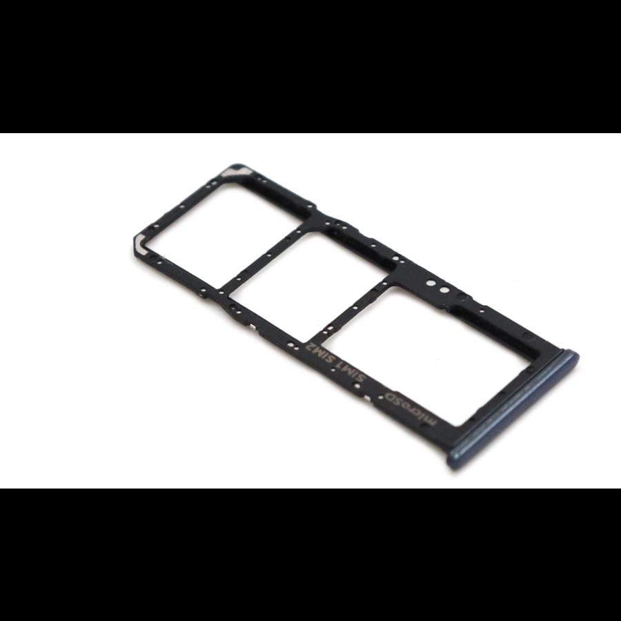Samsung A50 (A505F) Nano Sim Card Tray Black-1