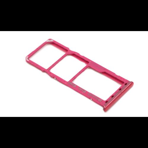 Samsung A40 (A405F) Nano Sim Card Tray Pink