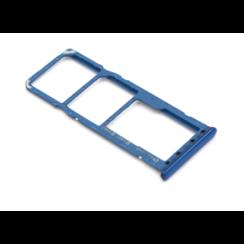 Samsung A50 (A505F) Nano Sim Kaart Houder Blauw