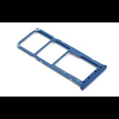 Samsung A20 (A205F) Nano Sim Kaart Houder Blauw