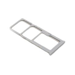 Samsung A20 (A205F) Nano Sim Kaart Houder Wit