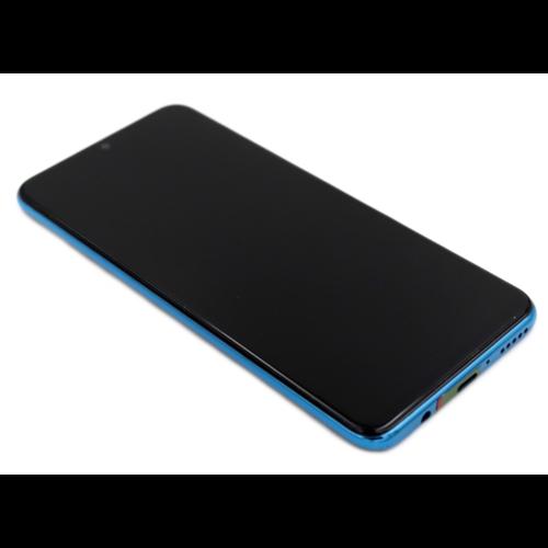 Huawei P30 Lite Scherm Assembly Compleet Met Behuizing Blauw