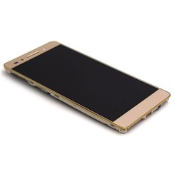 Huawei Honor 7 Display Assembly Complete with Housing Gold