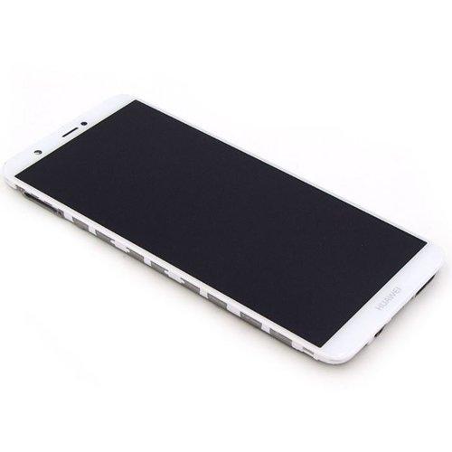 Huawei P Smart Scherm Assembly Compleet met Behuizing Wit