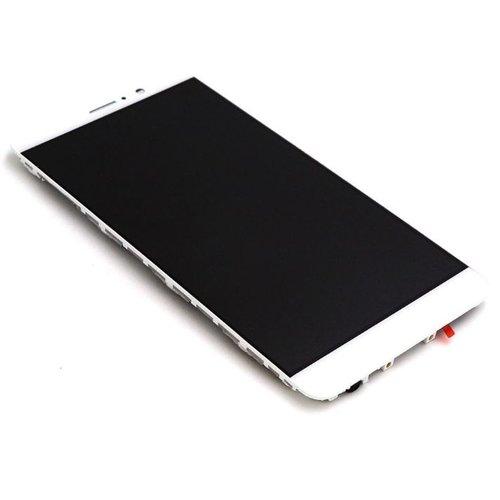 Huawei Mate 9 Scherm Assembly Compleet met Behuizing Wit