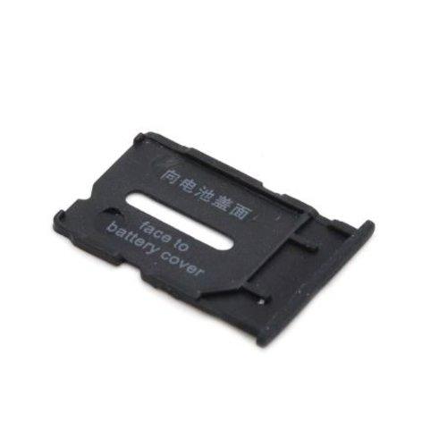 OnePlus One Sim Kaart Tray Bescherming Zwart