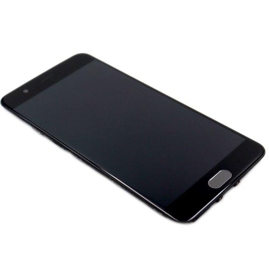 OnePlus Five Scherm Assembly Compleet met Behuizing Zwart-1