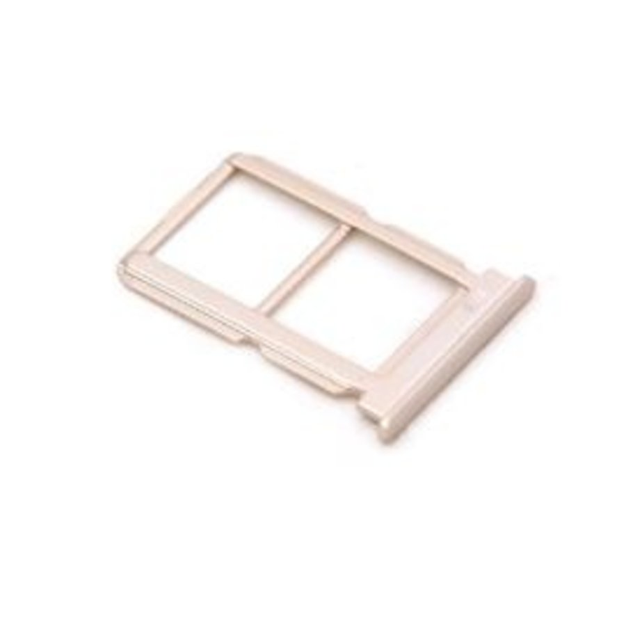 OnePlus Five Sim en SD Kaart Tray met Bescherming Goud-1
