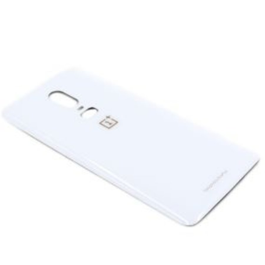 OnePlus 6 Back Cover White-1