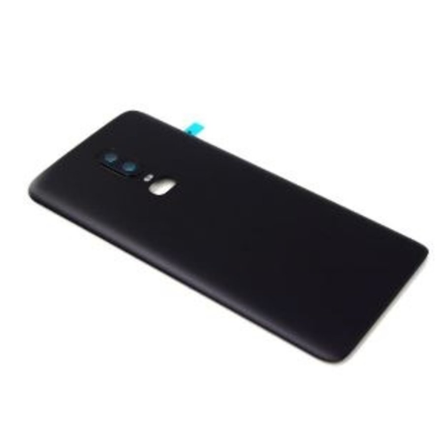 OnePlus 6 Back Cover Black-1