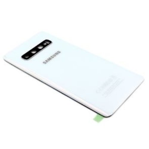 Samsung Galaxy S10 Plus SM-G975F BackCover GH82-18406F White