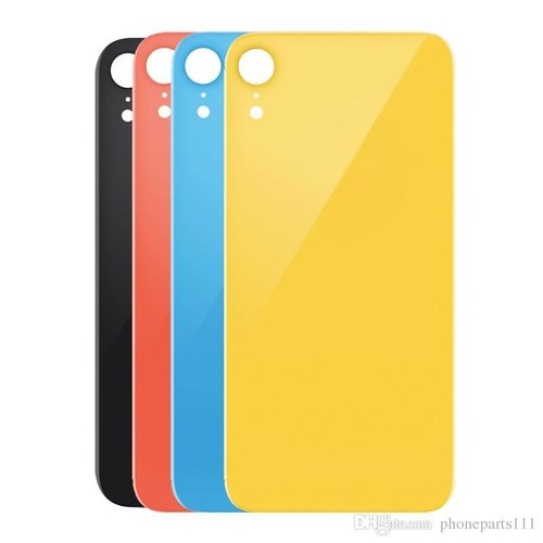 iPhone XR Back cover yellow
