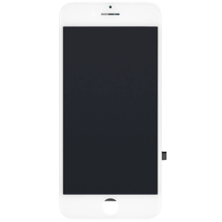iPhone 7 Display + Touchscreen + Metal Plate, In Cell - White