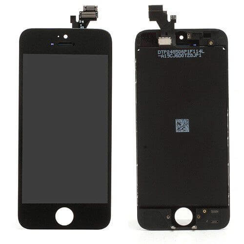 iPhone 5 display module (touch + lcd)  zwart copy