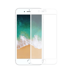 iPhone 7 / 8 White 5D Full CoverTempered Glass Protector