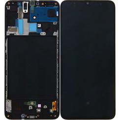 Samsung A70 (A705F) Scherm Assembly Zwart